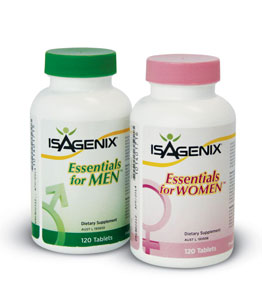 Isagenix Essentials for Men and Essentials for Women
