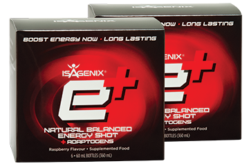 Isagenix E+ Natural Energy Shot
