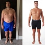 Joe lost 23kg and 99cm, and added 7kg of lean muscle mass using Isagenix products (Source: Isagenix.com)